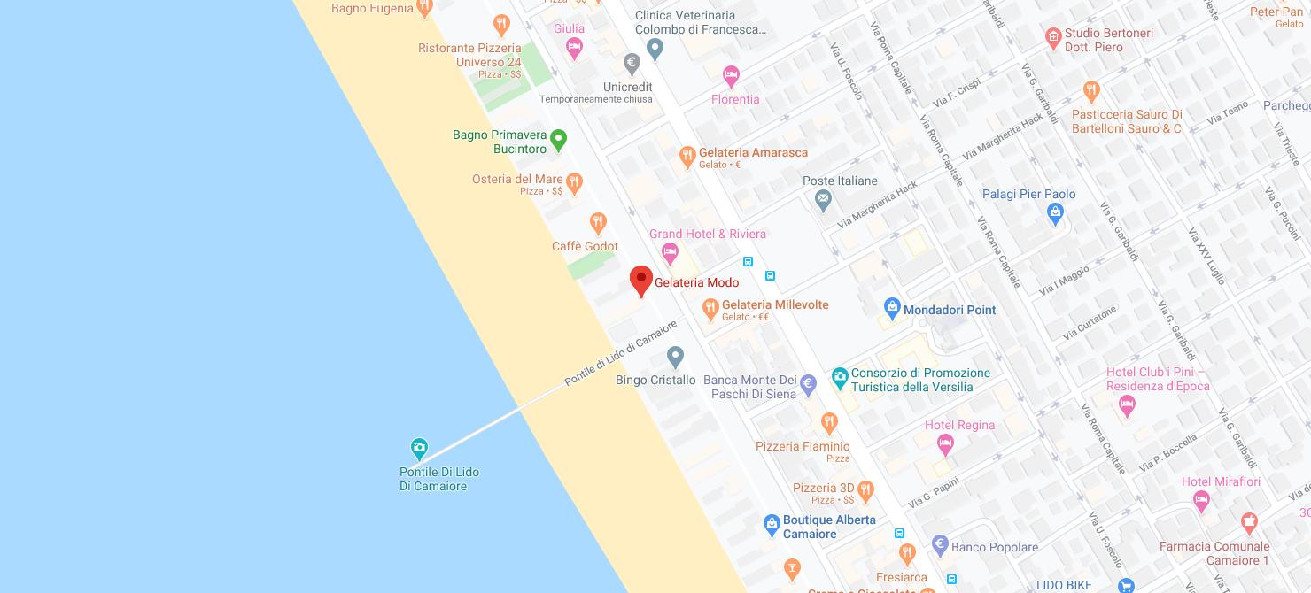 Google Maps - Gelateria Modo